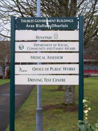 thurles driving test centre